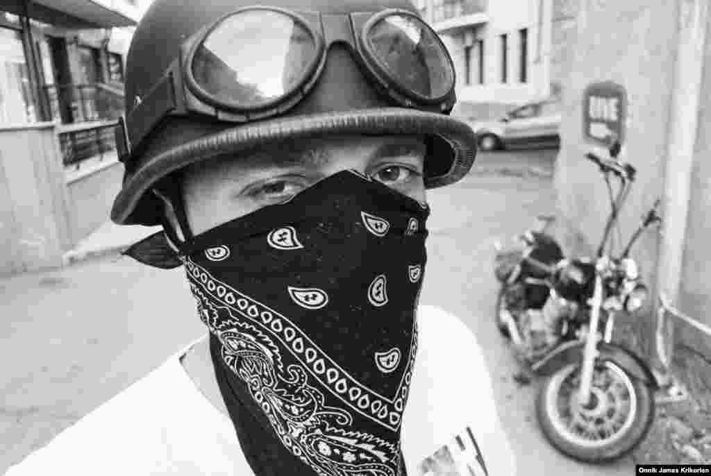 """Some think that we're just dirty bikers who swear like sailors which is admittedly true,"" says 31-year-old Alexander Didsulovani, ""but behind that image there's a whole philosophy of mutual respect and trust."""