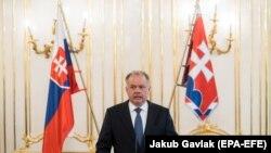 Словакиянын президенти Андрей Киска