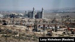 Добыча сланцевой нефти в Калифорнии
