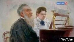 Lev Tolstoy. İllüstrasiya