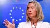 Верховний представник ЄС із закордонної та безпекової політики Федеріка Моґеріні