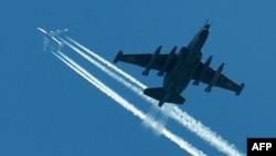 Штурмавы самалёт «Су-25»