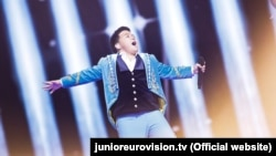 Ержан Максим Junior Eurovision конкурсында.