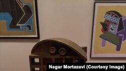 یک عمر مجسمهسازى ایرانى در آمریکا