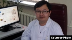 Жақсылық Мауленов, онколог. Сурет жеке мұрағаттан алынды.