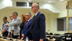 """Адвокатот Димитар Дангов на изрекувањето на пресудата за """"Тенк"""""""
