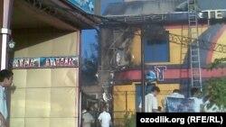 Uzbekistan- fire in an Internet cafe, Tashkent, 17.06.2011