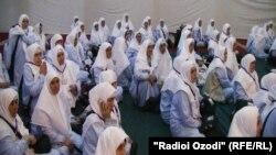 Среди желающий совершить хадж немало женщин