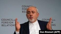 جواد ظریف در شورای روابط خارجی آمریکا