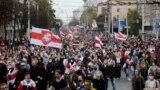 Belarus - Protests after presidential elections in Belarus. Minsk, 27Sep2020