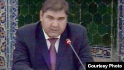 Uzbek Foreign Minister Elyor Ganiev