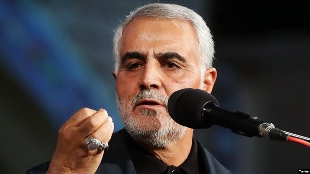 Major general Qasem Soleimani is an Iranian senior military officer in the Army of the Guardians of the Islamic Revolution and since 1998 commander of its Quds Forc