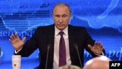 Пресс-конференция президента Владимира Путина