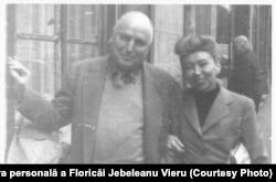 Eli Lotar și Florica Cordescu-Jebeleanu, foto de Eugen Jebeleanu, Paris 1956