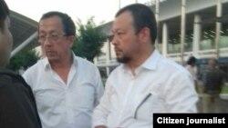 Братья Аброл и Шухрат Дусмухаммедовы были задержаны в аэропорту Ташкента 28 мая 2018 года