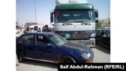 حادث على طريق بغداد الكوت