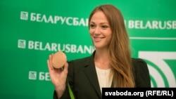 Чемпионка мира по плаванию Александра Герасименя.