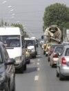 Trafic masini aglomeratie