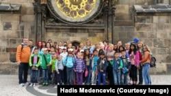 Djeca SOS sela u posjeti Pragu, arhivska fotografija