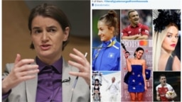 """Serbian Prime Minister of Serbia Ana Brnabic's statement about people from Kosovo as """"people from woods"""" has fueled memes and disputes on social media."""