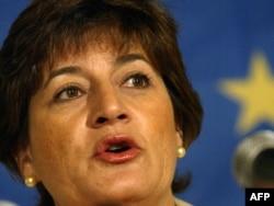 Ана Гомес, Еуропарламент депутаты. Страсбург, 17 мамыр 2005 жыл