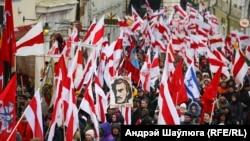 Цырымонія перапахаваньня Кастуся Каліноўскага і ягоных паўстанцаў, Вільня, 21 лістапада 2019 года