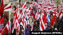 Перапахаваньне парэшткаў Каліноўскага ды іншых паўстанцаў у Вільні