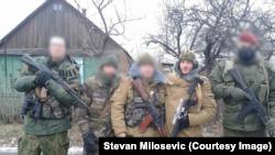Stevan Milošević u Ukrajini