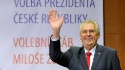 Реакція Мілоша Земана на перемогу у президентських виборах, Прага, 27 січня 2018 року