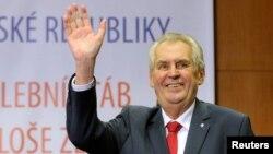 Çeh prezidenti Miloş Zeman
