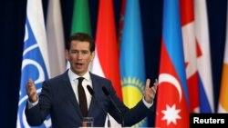 Шефот на австриската дипломатија Себастијан Курц.