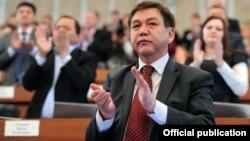 Председатель парламентского комитета по правам человека, конституционному законодательству и государственному устройству Эркин Алымбеков