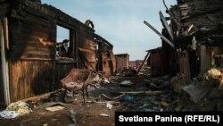 Архівне фото: Хакасія, невдовзі після пожеж