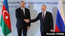 İ.Əliyev və V.Putin Soçidə. 3 oktyabr 2019