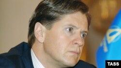 Бывший президент Банка Москвы Андрей Бородин. 5 апреля 2006 года.