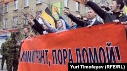 Мәскәүдә Урыс йөрешләренә меңнәрчә кеше чыга