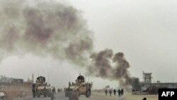 од последните инциденти во Кандахар, пред неколку дена