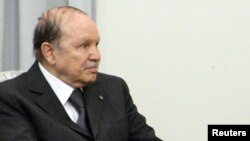 Presidenti i Algjerisë, Abdelaziz Bouteflika.