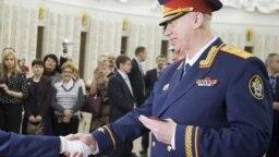 Александр Бастрыкин на церемонии приведения воспитанников Кадетского корпуса СК РФ к торжественной клятве кадета
