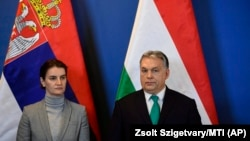 Ana Brnabić i Viktor Orban