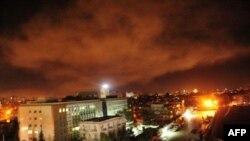 Сирия астанасы Дамаск. 14 сәуір 2018 жыл
