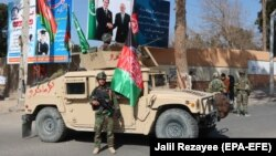 There was a heavy security presence in sensitive areas of Herat for the TAPI opening ceremony.