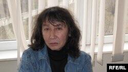 Калдыбай Абенов, режиссер нашумевшего фильма «Аллажар» о трагических Декабрьских событиях в Алматы в 1986 году. Алматы, 4 декабря 2009 года.