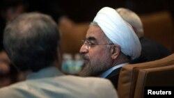 Президент Ирана Хасан Роухани на Генеральной Ассамблее ООН в Нью-Йорке. 26 сентября 2013 года.