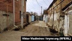 Улица Футболистов в центре Симферополя, архивное фото
