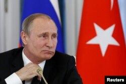 Президент Росії Володимир Путін. Санкт-Петербург, 9 серпня 2016 року