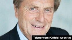 Telenor's former chairman, Svein Aaser