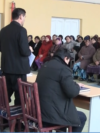 Uzbekistan- a school in Khorezm