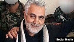 Глава элитного иранского подразделения «Стражи исламской революции» (СИР) генерал Касем Сулеймани.