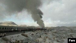The collision occurred at the Haft-Khan station in the city of Shahroud early on November 25.